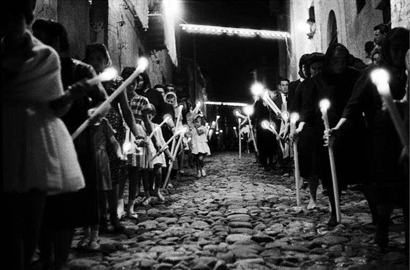 Festa di S. Fortunata, Baucina, 1963 © Ferdinando Scianna