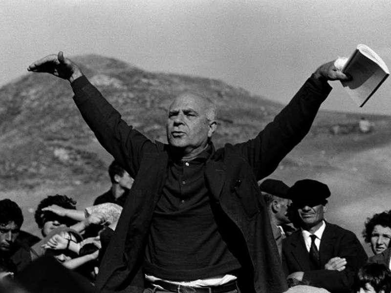 Ignazio Buttitta, Roccamena, 1963 © Ferdinando Scianna