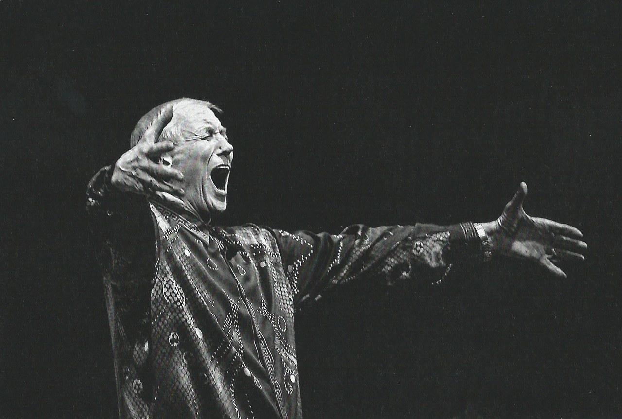Evgenij Evtušenko, Milano 2000 © Ferdinando Scianna