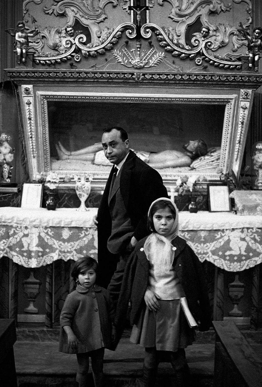Leonardo Sciascia, Racalmuto, 1964 © Ferdinando Scianna