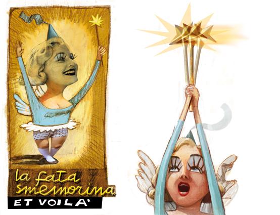 Anastasia, Genoveffa e Cenerentola, Tavola di Maria Cristina Costa