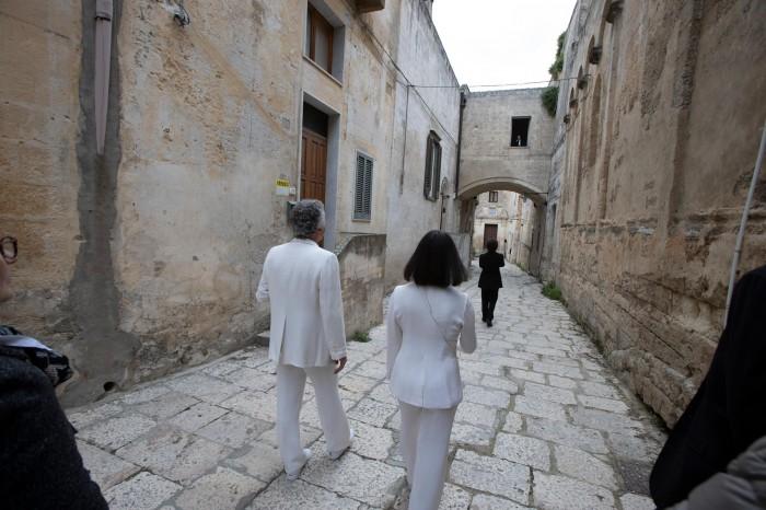 L''Antipurgatorio' a Matera: il passaggio per Via Riscatto (foto di M. Caselli Nirmal)