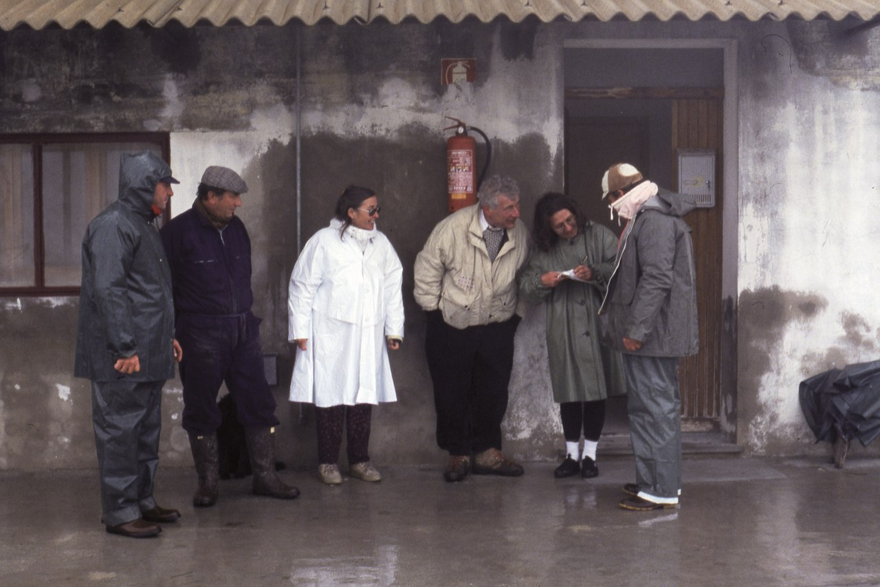 Valli di Comacchio, aprile 1994. Courtesy Maria Nadotti
