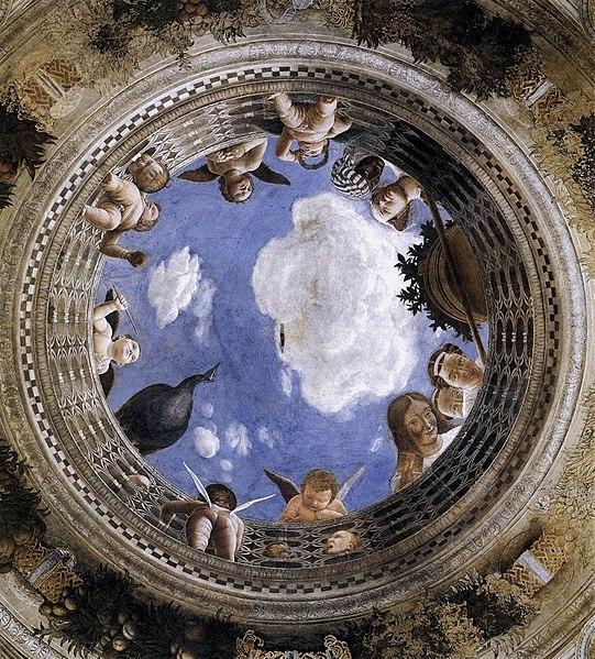 Andrea Mantegna, La camera degli sposi (1465-1474) – L'oculo