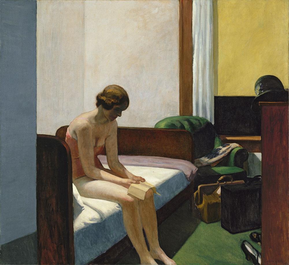 Edward Hopper,Hotel Room, 1931, Madrid © Museo Thyssen-Bornemisza