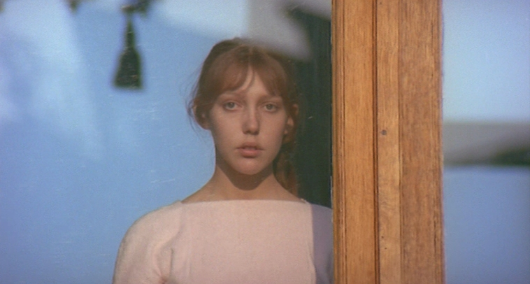 Fig. 6 Anne Wiazemsky in una scena di Teorema