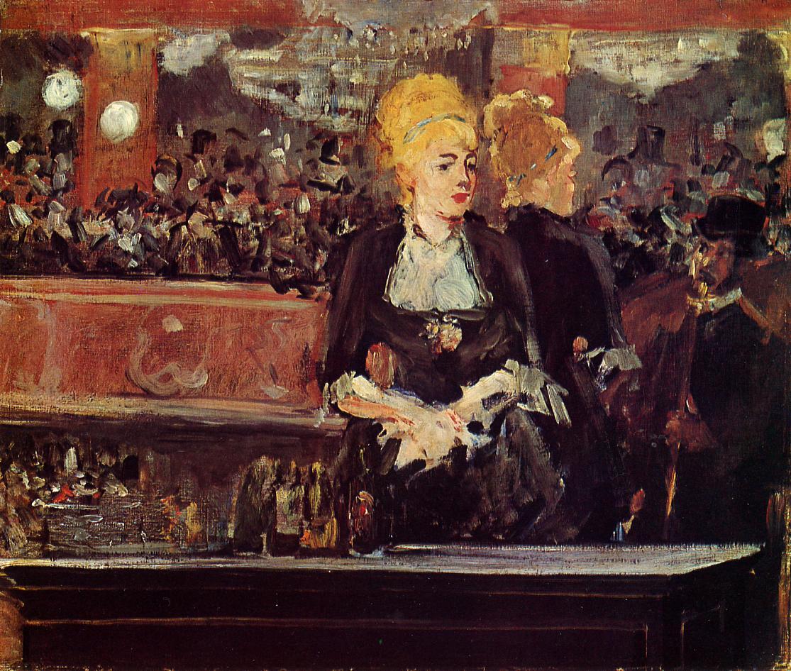 Édouard Manet, Un bar aux Folies-Bergère, prima versione (olio su tela, 1881), collezione privata