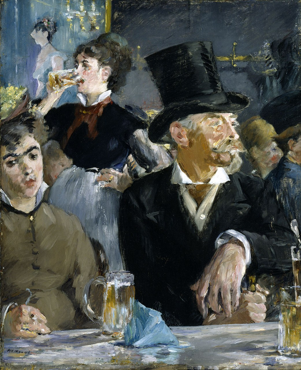 Édouard Manet, Café concert (olio su tela, 1879), The Walters Art Museum, Baltimore