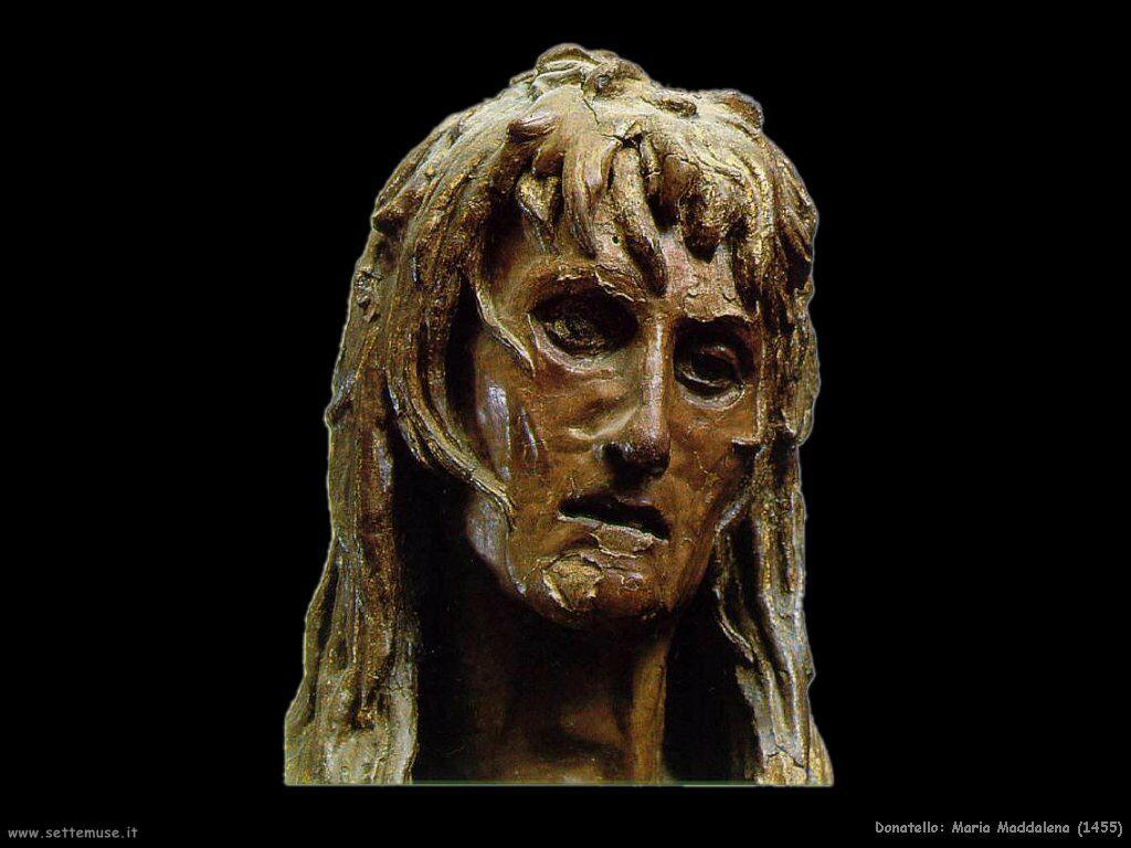 Donatello, Maddalena penitente (scultura in legno, 1455-1456), Museo dell'Opera del Duomo, Firenze
