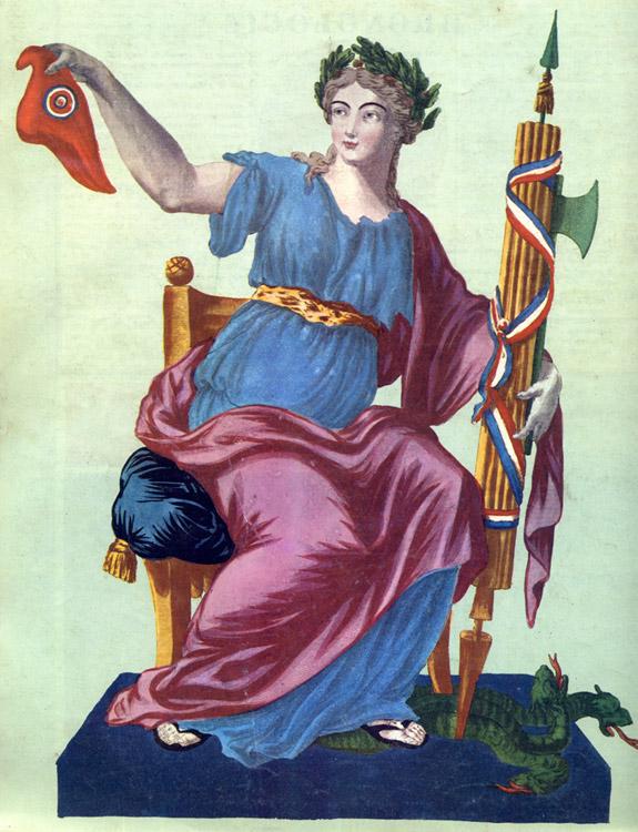 Martial Deny, Liberté (stampa, 1792)