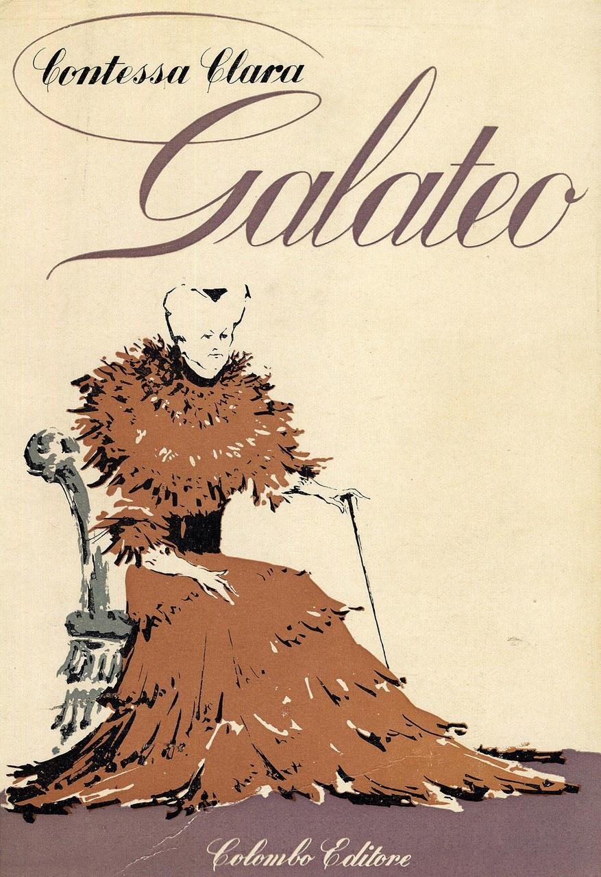 Copertina de Il Galateo, edizione 1959. Copertina illustrata da Fabrizio Clerici. © Archivio Fabrizio Clerici