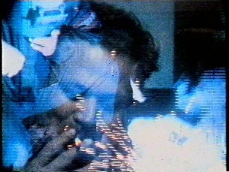 Franco Angeli, fotogramma da Lo spirito delle macchine (1969), film in 16mm, colore, suono, 45'. Courtesy Archivio Franco Angeli