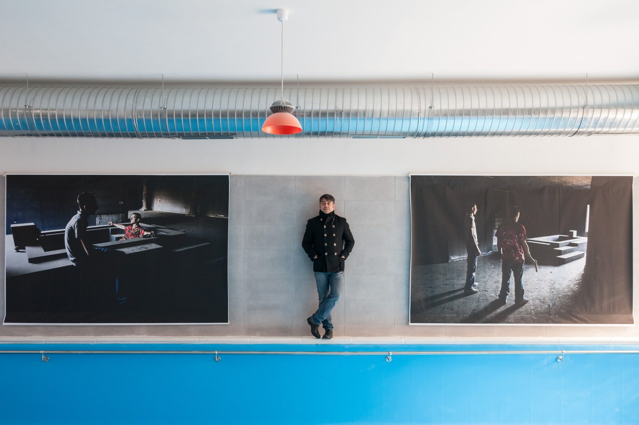 Foto di Mario Spada esposte nella mostra C'era una volta … Hollywood (Casal di Principe)