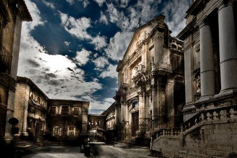 Via Crociferi a Catania