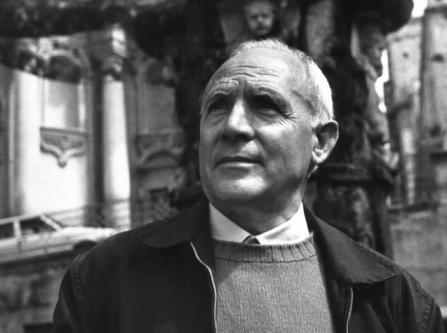 Ritratto fotografico di Vincenzo Consolo, di Giuseppe Leone (1985 ca.)