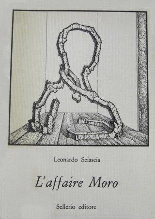 Fabrizio Clerici, L'uomo solo (1978). Illustrazione di copertina per la prima edizione de L'Affaire Moro, Palermo, Sellerio, 1978