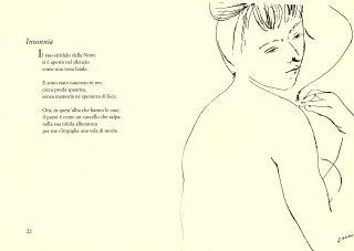 Emilio Greco, disegno pubblicato come illustrazione della raccolta di poesie La Sicilia, il suo cuore di Leonardo Sciascia, 1956