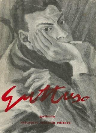 Sovracoperta di «Galleria», fascicolo dedicato a Renato Guttuso, 1971