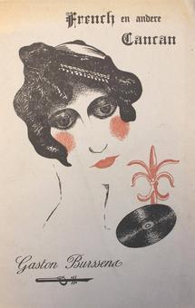 Gaston Burssens, French en andere cancan, Wilrijk, Avontuur, 1935