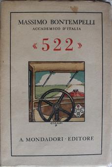 Massimo Bontempelli, Racconto di una giornata, 522, Milano, Mondadori, 1932