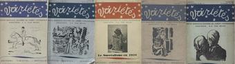 Copertine di Variétés. Revue Mensuelle Illustrée de l'esprit contemporain, 1928-1930