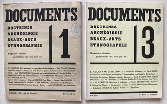 Fotomontaggio della rivista Documents. Doctrines, archéologie, beaux-arts, ethnographie, Georges Bataille, Michel Leiris (dir.), n. 1, avril 1929