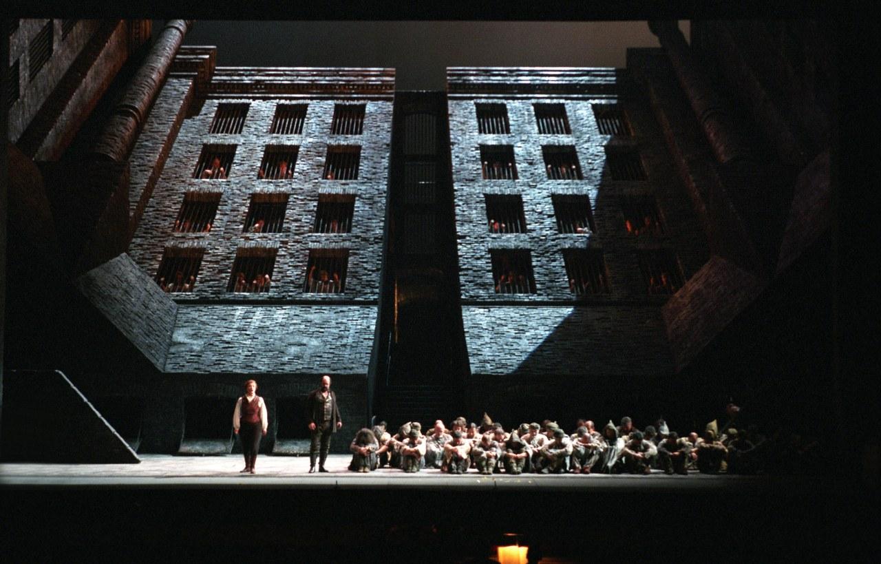 Fidelio, regia di Werner Herzog, 1999. Foto Tamoni © Teatro alla Scala di Milano