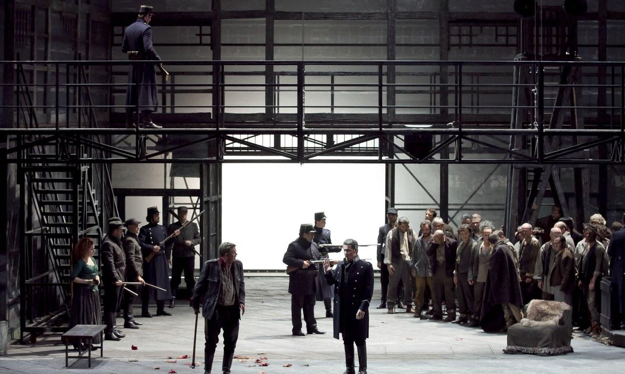 Fidelio, regia di Mario Martone, 2011. Foto Ramella e Giannese © Teatro Regio di Torino