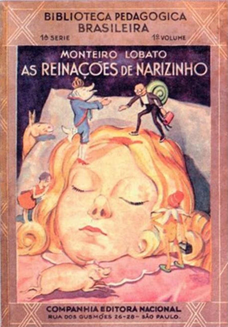 Fig. 4 Monteiro Lobato, Reinações de Narizinho, São Paulo, Companhia Editora Nacional, 1931.
