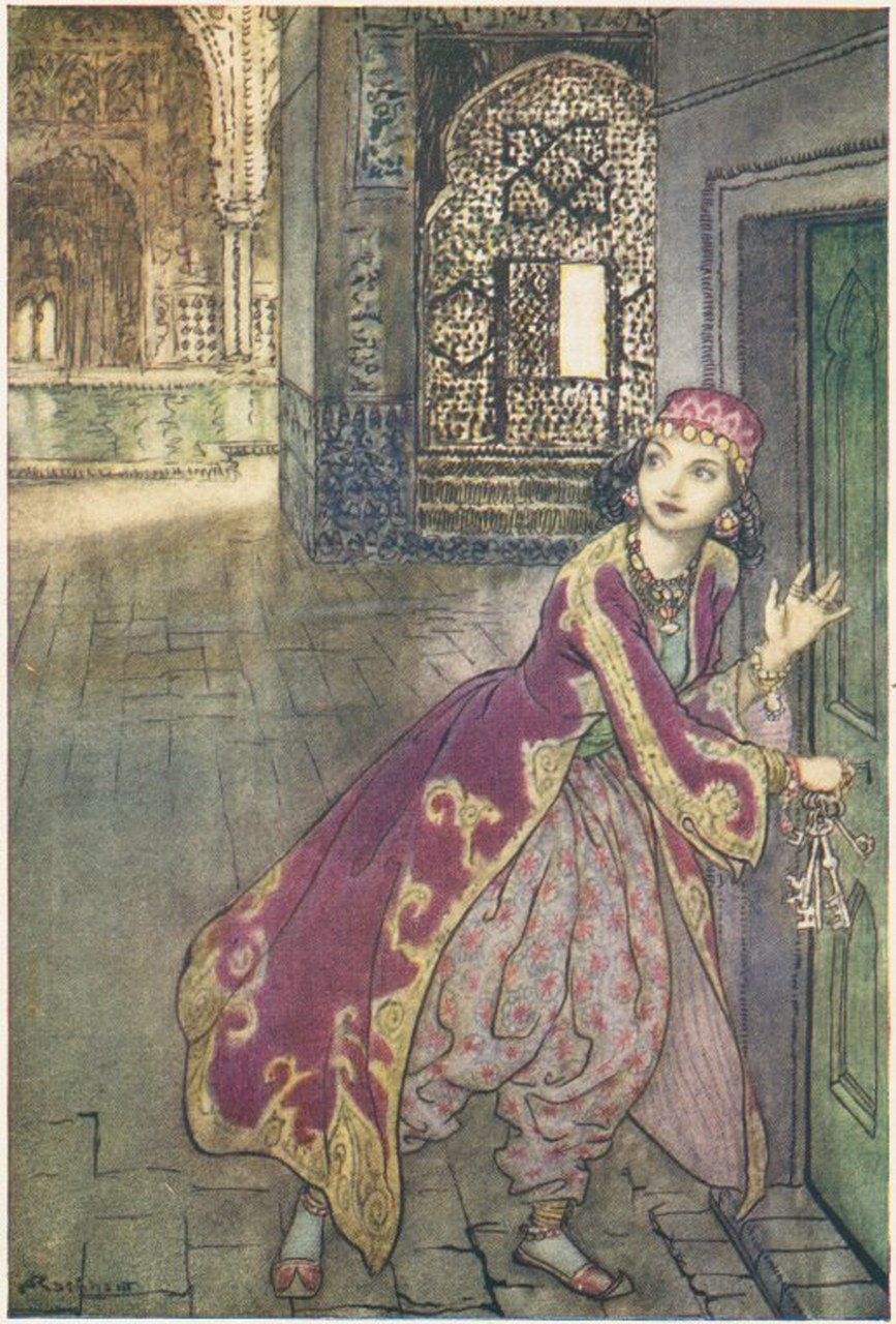 Fig. 2 Arthur Rackham, The Arthur Rackham fairy book. A book of old favourites with new illustrations, 1933, (The New York Public Library, Digital Collection).
