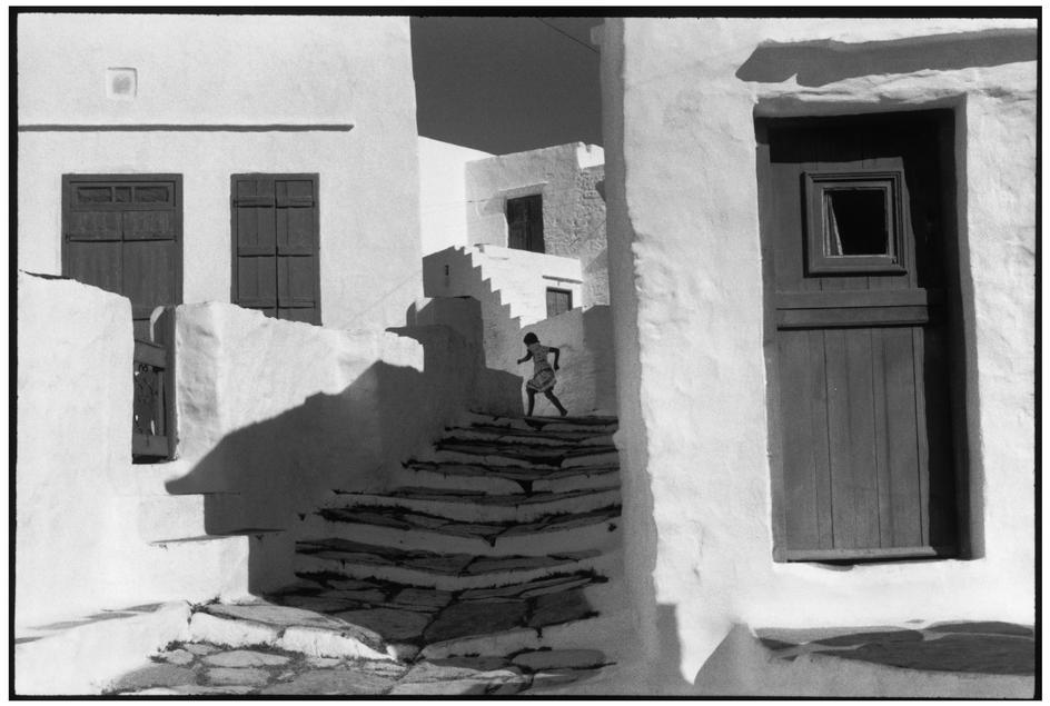 H. Cartier-Bresson, Cicladi. Isola di Sifnos, Grecia, 1961