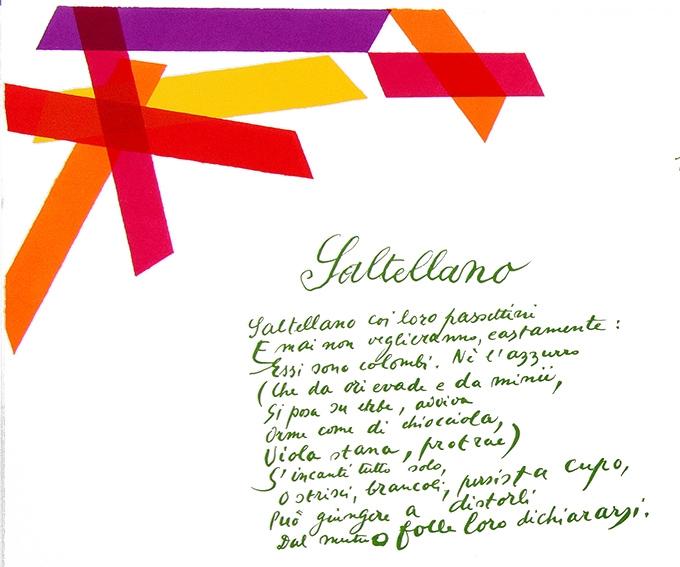 Giuseppe Ungaretti, La luce. Poesie, 1914-1961, con litografie di Piero Dorazio, St. Gallen, Erker Presse, 1971