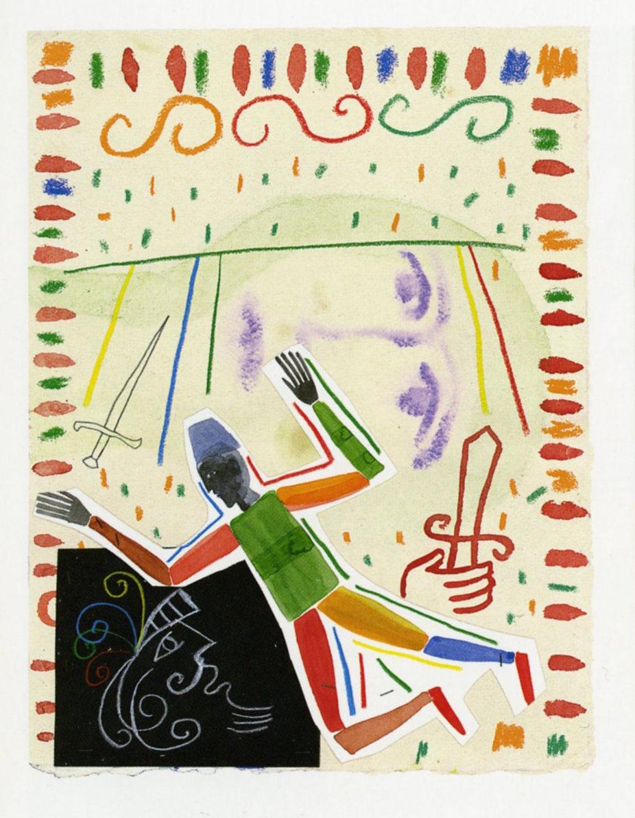 Mimmo Paladino, Illustrazioni per Ludovico Ariosto, Orlando furioso, a cura di Corrado Bologna, Treccani, Roma, 2011