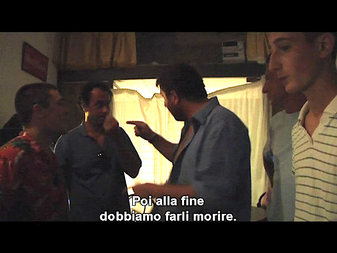 Una scena diGomorra. Cinque storie brevi, di Melania Cacucci (2008)