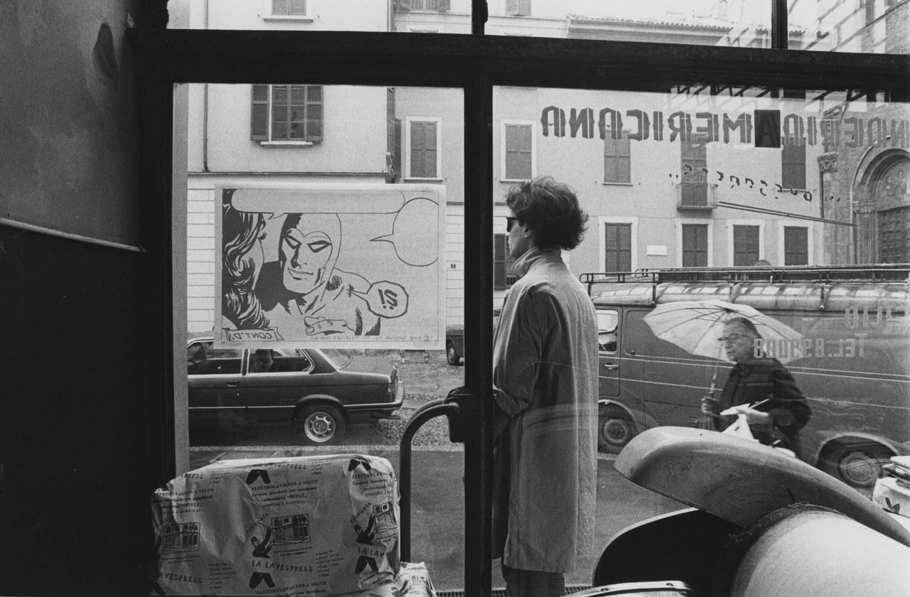 Dreaming of a Supercadillac Gastric Gasoline (Vaseline) (1979). Foto di Monica Molteni. Dall'archivio personale di A. Syxty