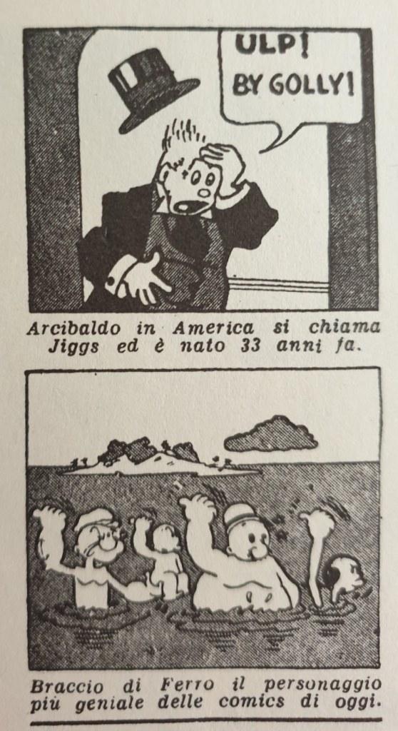 Fig. 1 Il Politecnico, 2, 6 ottobre 1945, p. 4 (particolare)