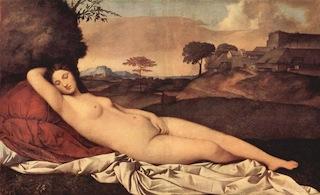 Giorgione, Venere dormiente, Gemaldegalerie, Dresda