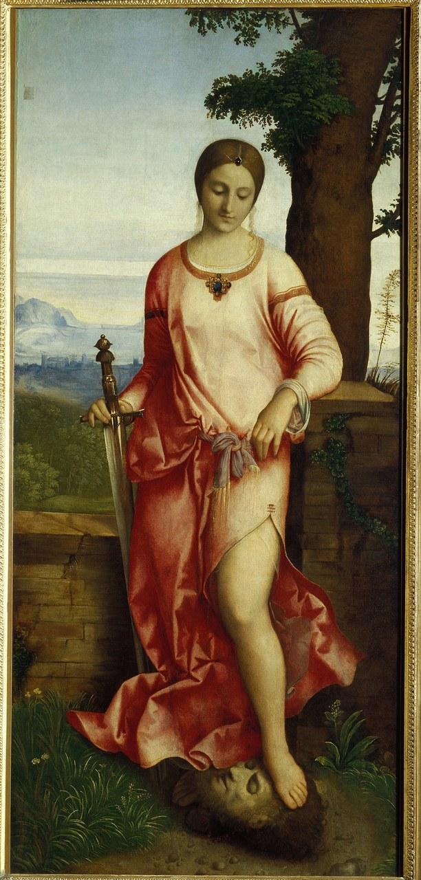 Giorgione, Giuditta con la testa di Oloferne, Ermitage, San Pietroburgo