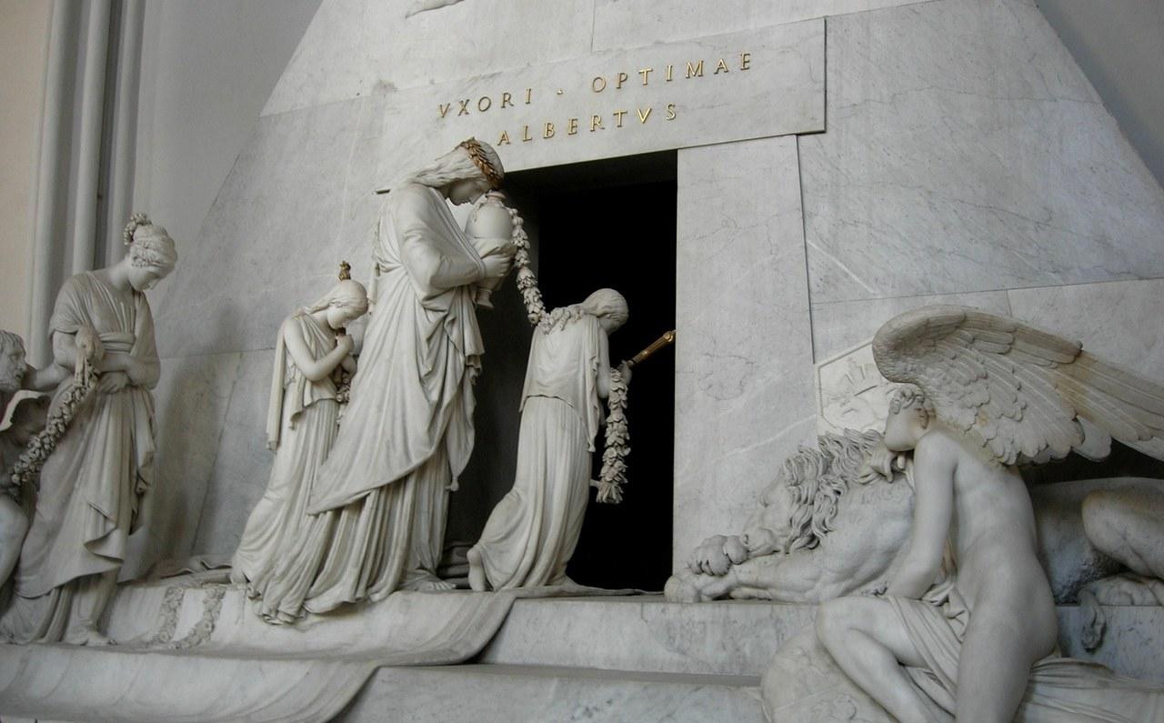 Antonio Canova, Monumento funebre a Maria Cristina d'Austria, 1805, Augustinerkirche, Wien