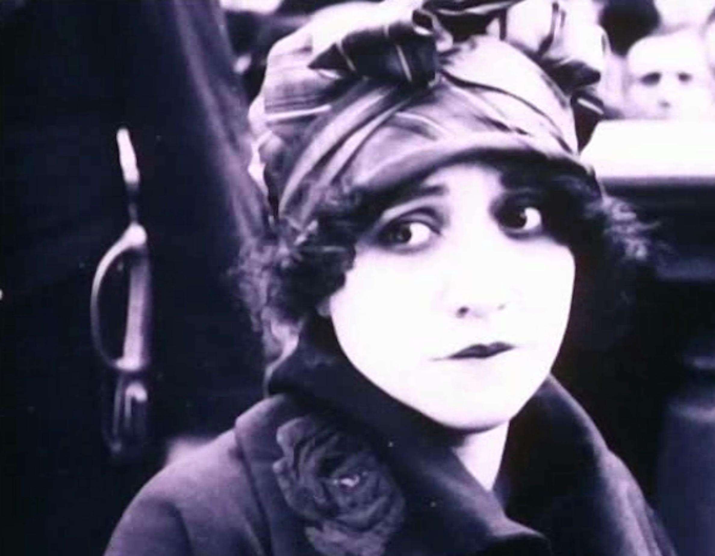 Valentina Frascaroli in Il delitto della piccina, di Adelando Fernàndez Arias (1920)